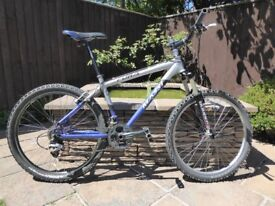 Mountain bike Massi Fura aluminium frame 24 speed suspension forks