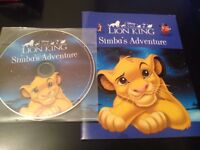 Disney The Lion King Simba's Adventure Book and CD