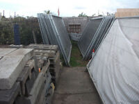 Heras Fencing Panels and Heras Hoarding Panles