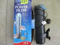 Aquarium Interpet internal power filter