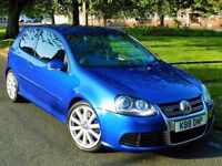 ★3 MONTHS WARRANTY★ (2009) VOLKSWAGEN GOLF R32 DSG 4MOTION -SAT NAV-LEATHER - FSH -FREE DELIVERY UK