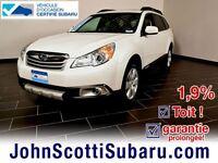 2012 Subaru Outback Touring Toit 1.9% MANUEL