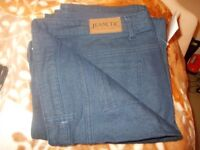 ladies jeanetic slim leg jeans brand new still with labels and bag size 22