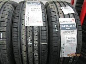 225/65R16 8 NEW MATCHING KUMHO A/S TIRES