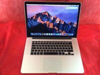 Macbook Pro RETINA 15inch A1398 2.6GHZ INTEL CORE i7 16GB RAM 500GB 2012 + WARRANTY L716