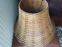 IKEA wicker shade in good condition only £4