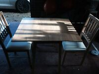 Table and chairs (2)