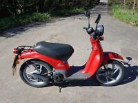 Honda moped 50cc learner ready. MOT until Oct 2018. Economical. Good tyres. Can be derestricted