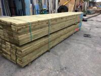 6x2 Timber 4.8m lengths c24 construction grade Treated quality