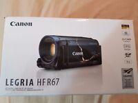 NEW CANON LEGRIA HF-R67 FULL HD 1080P 8GB WI FI CAMCORDER M201