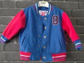 Toddler boys Next bomber jacket 12-18 months