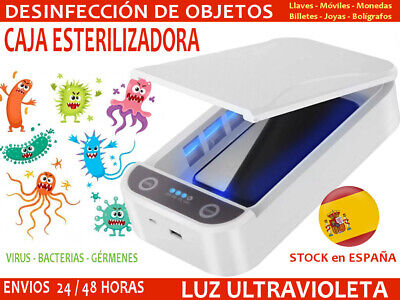 Caja Esterilizadora Desinfectante. Esterilizador Luz Ultravioleta Esterilizar UV
