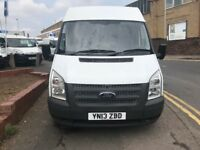 FORD TRANSIT SWB SEMI/HI /TOP 2.2TDCI 2013/13 REG £4999 NO VAT