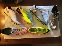 Football boots various sizes good condition £10 per pair