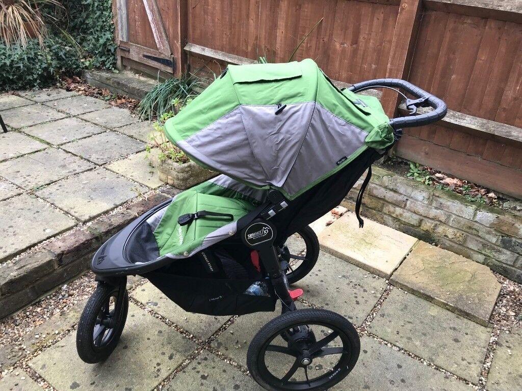 Baby Jogger Summit X3 Jogging Stroller Buggy Pushchair In Richmond London Gumtree