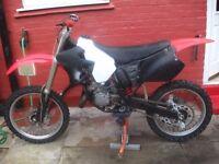 honda 125cc super evo scrambler bike