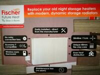 Fischer electric storage Radiators for sale.