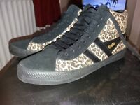 Gola leopard trainers sz 6 never worn