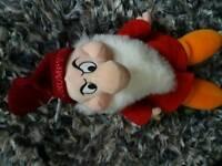 Grumpy soft toy