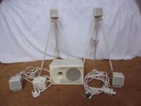 PC Works 4 Point Surround Sound System
