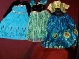 Age 7-9 girl princess dresses