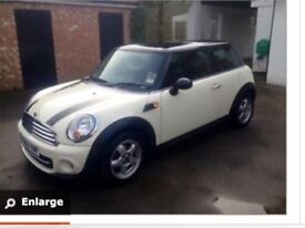 For sale Mini Cooper diesel 2010, free road tax