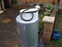 Carver MK2 Caravan Water Heater comes with immersion heater and polystyrene insulator jacket