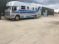 Scania horse box for sale