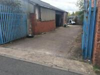 German car parts/garage business for sale with 2 big units and Massive yard.car business for sale