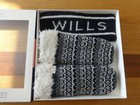 Jack Wills headband/mittens BOXED GIFT SET, BNWT RRP £34.50! Fab Christmas present!