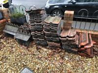 Double Roman tiles x approx 60 and corner tiles x 4.
