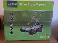 Brand New Boxed Hand Push Lawnmower
