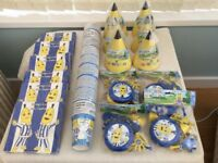 NEW BANANAS IN PYJAMAS JOB LOT OF CHILDREN'S PARTY / PICNIC ITEMS