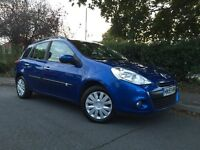 2009 (59) Renault Clio 1.5 DCI Estate Expression, Great value, £30 road tax/year