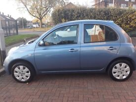 A very clean automatic Nissan Micra for sale.