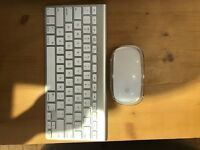 I'm selling my Apple Magic Mouse and Apple wireless Bluetooth keyboard
