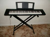 YAMAHA NP11 PIANO KEYBOARD & STAND