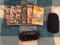 PSP - Playstation Portable with Games