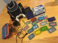Nintendo Gameboy Advance SP with games/accessories