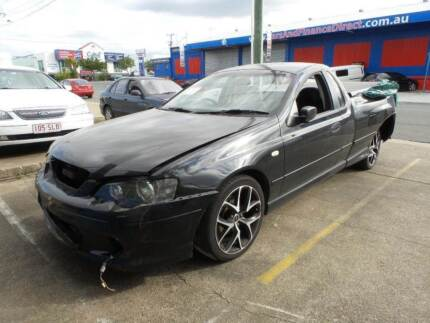 Currently Wrecking a Black BA XR-6 Turbo 6 Speed Manual Ute Slacks Creek Logan Area Preview