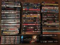 Ultimate dvd/blue ray collection amazing offer 68 movies ps4, xbox