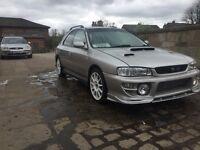 2000 Subaru Impreza WRX STI Turbo 2000 full mot tastefully modded bargain wagon