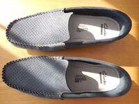 Clarks mens slip on shoes