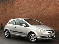 '57' 2008 VAUXHALL CORSA 1.2 + 9 MONTHS M.O.T + DRIVES GREAT +