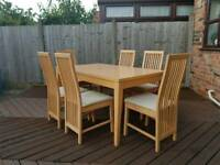 Indoor Dining Table 6 Person