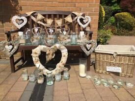 Home or wedding decorations