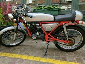 Motorbike 50cc classic cafe racer 2014