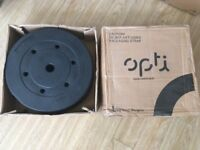 2x Vinyl 10kg Standard Weight Plates USED & BOXED