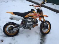 125cc Pit, Motocross, Dirt bike, 4 speed manual, great condition (84cm to seat)