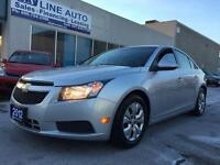 2012 Chevrolet Cruze AUTOMATIC & CERTIFIED